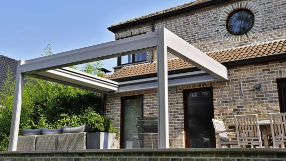 idée pergola retractable