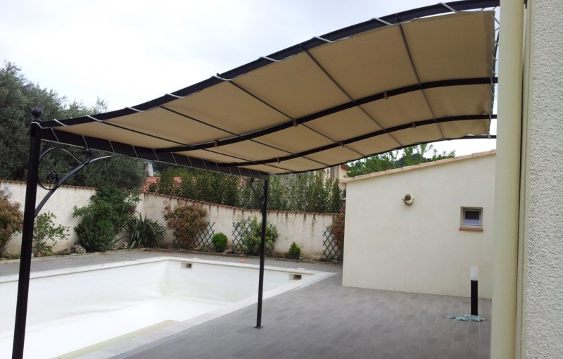 illustration pergola sur mesure