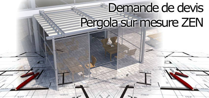 photo pergola sur mesure