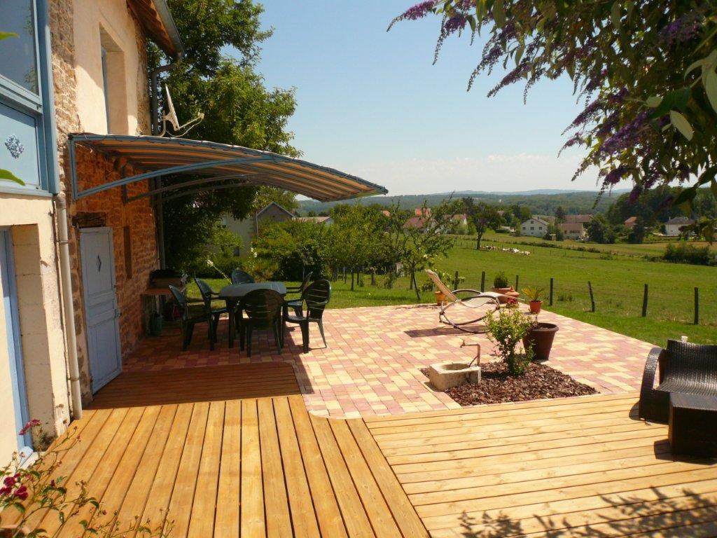 exemple pergola suspendue