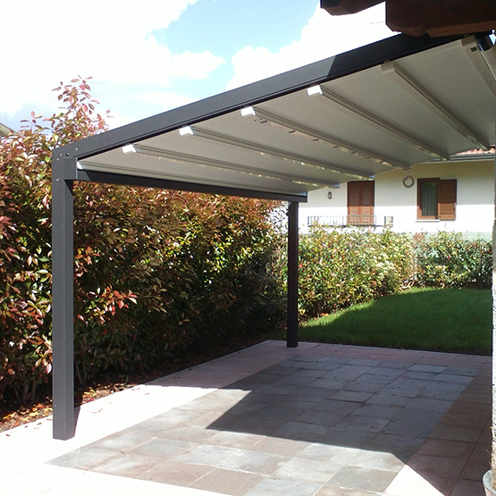 photo pergola toile retractable