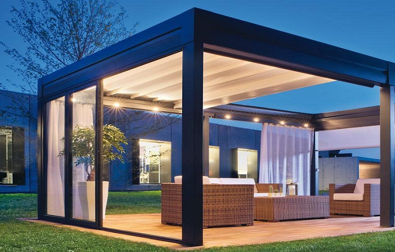 pergola toit coulissant ma pergola. Black Bedroom Furniture Sets. Home Design Ideas