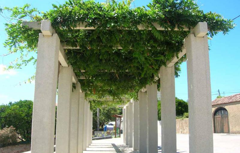 illustration pergola urbaine