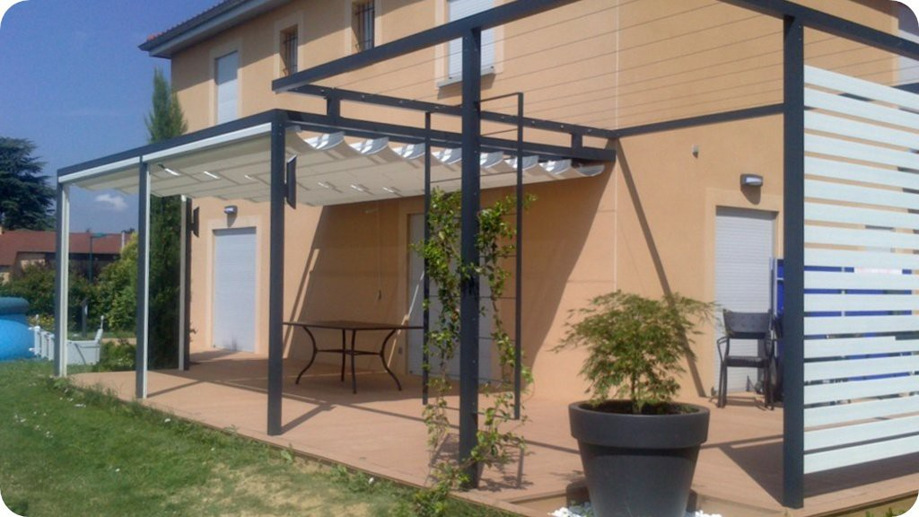 visualiser pergola velum