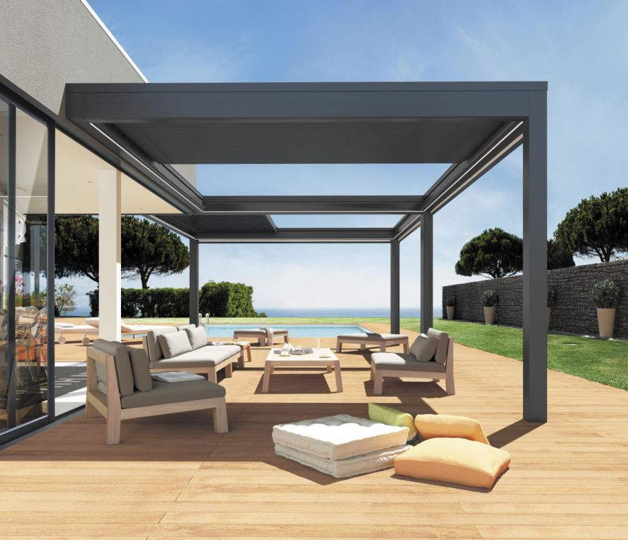 pergola veranda rideau ma pergola. Black Bedroom Furniture Sets. Home Design Ideas