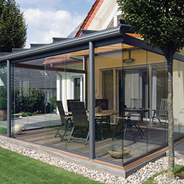visualiser pergola verre
