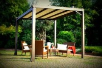 visualiser pergola zinc